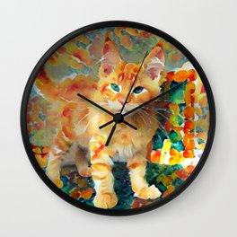 Hey Pumpkin Wall Clock