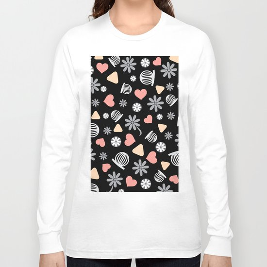Lovely Pattern VII Long Sleeve T-shirt