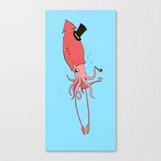 Gentlesquid Canvas Print