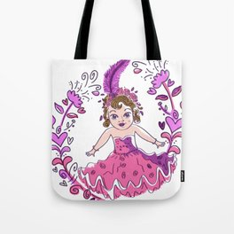 Cute little Royal show doll Tote Bag