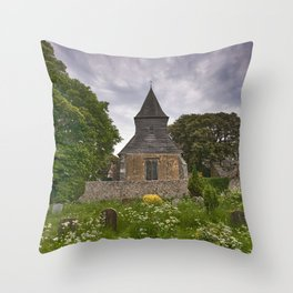 St Mary and St Peter Wilmington Throw Pillow