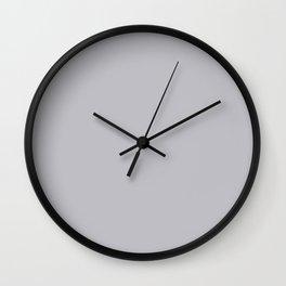 Illustrated Haystack Rock ~ Grey Sand Wall Clock