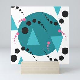 Blue Bubble Mini Art Print