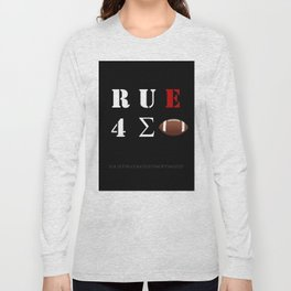 Are You Ready For Some Football (cryptic) - inverted Long Sleeve T-shirt