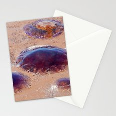 Jellyfish at the Beach Stationery Cards