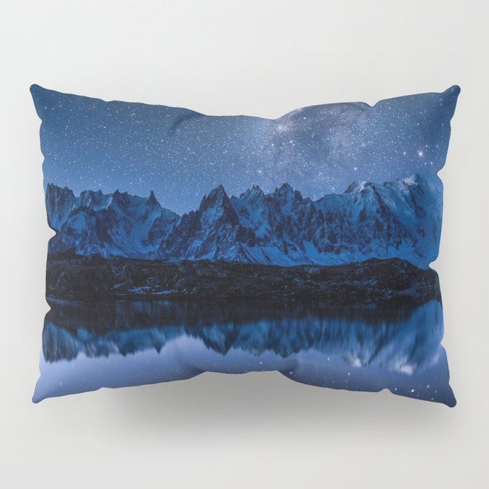 Night mountains Pillow Sham