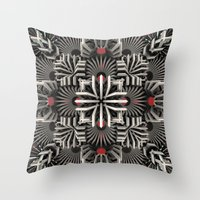 cyberpunk Throw Pillows featuring Calaabachti Matrix by Obvious Warrior
