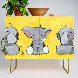 3 Sides of a Trumpet Credenza