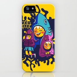 Overbite Munchkins iPhone Case