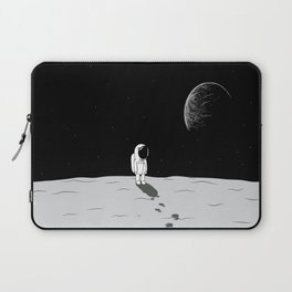 Walking Astronaut on Planet Laptop Sleeve