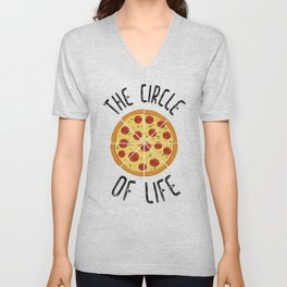 The Circle Of Life Funny Quote Unisex V-Neck
