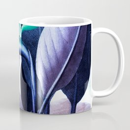 Birds of Paradise Temple of Flora Blue Mint Coffee Mug