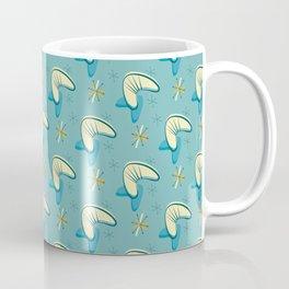 Atomic 1950s boomerang mid-century design Coffee Mug