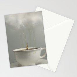Raining Tea Stationery Cards