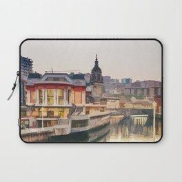 Visit Bilbao Laptop Sleeve