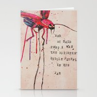 firefly Stationery Cards featuring FIREFLY by MEERA LEE PATEL
