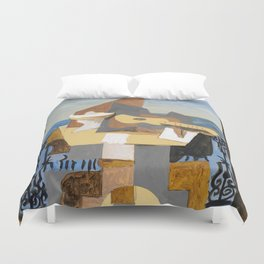 Still life in front of a window - Digital Remastered Edition Duvet Cover