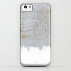 Painting on Raw Concrete Slim Case iPhone 5c