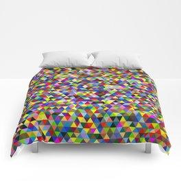 Colored Triangles / Triangulos de Colores Comforters