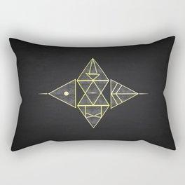 Runes Rectangular Pillow
