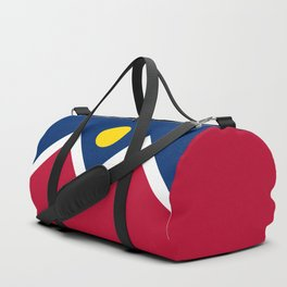 Denver City Flag - Authentic High Quality Duffle Bag
