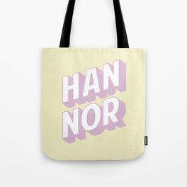 HAN NOR Tote Bag