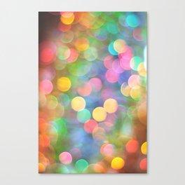 Rainbow Bokeh I Canvas Print