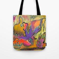 Playful Shapes & Colors Tote Bag