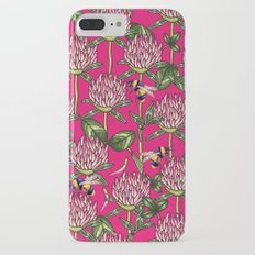 Red clover pattern iPhone 7 Plus Slim Case