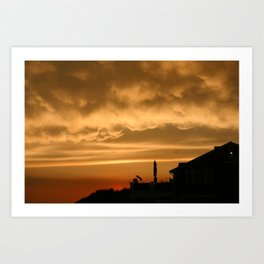Point to the Sky Art Print