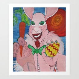The Easter Bunny Art Print