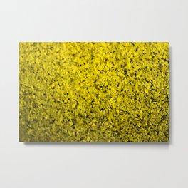 yellow cluster Metal Print