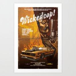Wicked Cop Art Print