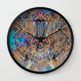 Akin to recalling, instead; understood mimicry. 19 Wall Clock