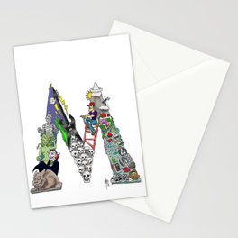 M is for Mack Stationery Cards