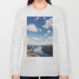 Lysefjorden, Pulpit Rock, Norway Long Sleeve T-shirt