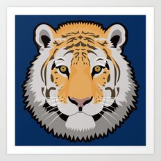The Wild Ones: Siberian Tiger Art Print