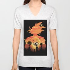 Beautiful Sunset Unisex V-Neck