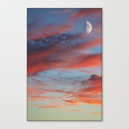 Violent Sky Canvas Print