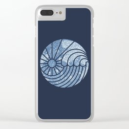 Sea of Serenity Clear iPhone Case