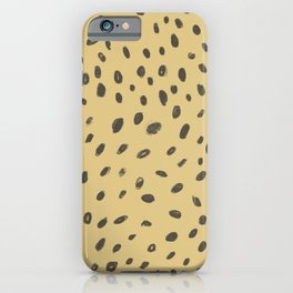 Cheetah Print iPhone Case