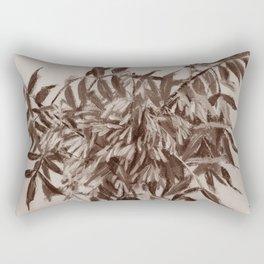 Ash-tree, sepia Rectangular Pillow