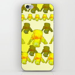 YELLOW IRIS FIELDS iPhone Skin