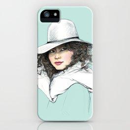 Her look... iPhone Case