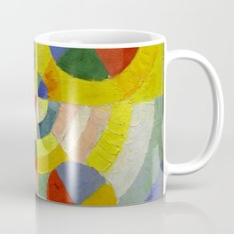 "Robert Delaunay ""Circular Forms"" (detail) Coffee Mug"