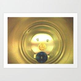 Tea jar smile. Art Print