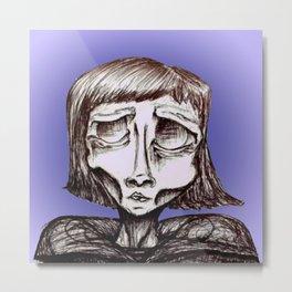 Asymmetric, Ghoul #6 Metal Print