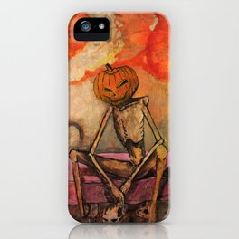 Halloween Head: Monsters iPhone Case
