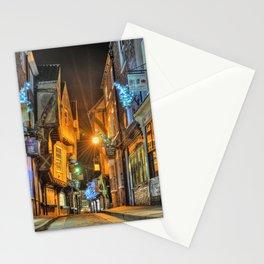 York Shambles at Xmas Stationery Cards