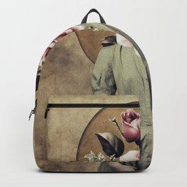 Flower lady Backpack